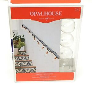 Opal House Premium String 10 Lights Weather Resistant Indoor/Outdoor 10 FT