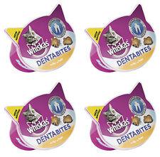 4 x WHISKAS DENTABITS Dentabites Chicken Flavor Treats For Cat Teeth 50g 1.8oz