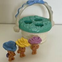Kenner 1995 Fairy Winkles Folly Magic Find Me Flower Basket Like Polly Pockets