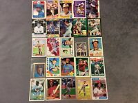 HALL OF FAME Baseball Card Lot 1978-2020 MIKE TROUT LOU BROCK HONUS WAGNER+