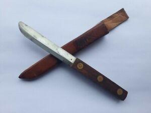 P. Holmberg Eskilstuna EKA Sweden knife hunting dagger full tang Rare maker 1940