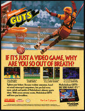 Nickelodeon GUTS__Original 1994 print AD / game promo__SNES__Super NES__Nintendo