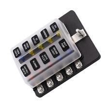 10way Sicherungskasten-Klingenhalter(ATO/ATC) für 6V12V24V-Systeme LED-Anzeigen