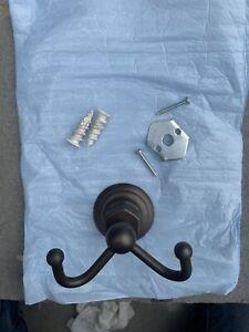 Victorian Double Towel Hook in Venetian Bronze by Delta