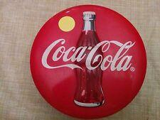 Coca-Cola Coke Tin Metal Advertising Round Box 1996 Vintage Style Collectible