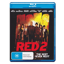 Red 2  Blu-ray  Brand New Aust.  - Bruce Willis, Helen Mirren, John Malkovich