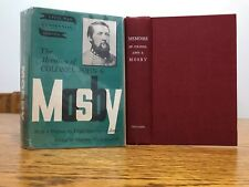 The Memoirs of Colonel John S Mosby (1959 Hardcover)
