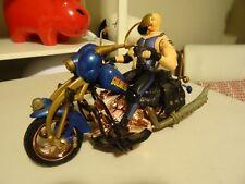 Vintage 1999 GOLDBERG WCW Motorcycle Road Wild Wrestlers ToY biz wwf wwe  N11