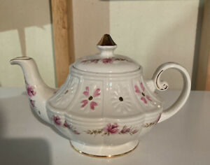Ellgreave Ironstone Teapot Ralph 1750 Moses 1751 Enoch 1784 Woods & Sons England