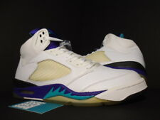 2006 Nike Air Jordan V 5 Retro LS WHITE EMERALD GRAPE ICE PURPLE 314259-131 12