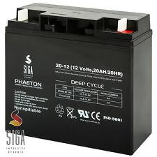 20AH 12V AKKU AGM GEL Batterie Rasenmäher, Rasentraktor Aufsitzmäher 17Ah, 18Ah