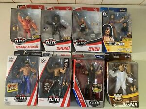 WWE Elite Figure Lot of 8 Mattel NEW Sealed Wrestling Wrestlers NXT AEW WWF Rare