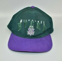 Milwaukee Bucks NBA Twins Enterprise Vintage 90's Strapback Cap Hat - NWT