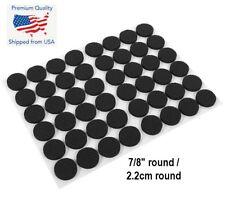 48PCS Round Self Adhesive Furniture Leg Non Slip Felt Pads Anti Slip Mat Black