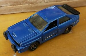 Matchbox Superkings,  AUDI QUATTRO,  Metallic Blue.Good Condition.