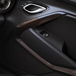2016 Chevrolet Camaro Genuine GM Interior Door Trim Kit Black 23507865