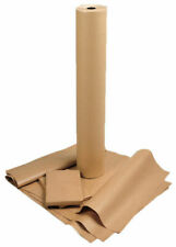 750mm X 25m Heavy Duty Brown Kraft Wrapping Paper Roll 90gsm - 25 Metres