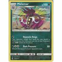 Malamar - 119/214 - Rare Holo Card - Pokemon TCG Sun & Moon Unbroken Bonds Cards