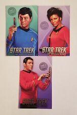 3 Dave & Busters Star Trek Coin Pusher Series Uhura/Scotty/Bones McCoy Card