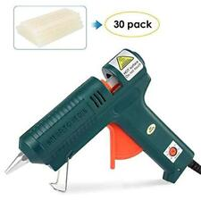 100W Hot Glue Gun +30 pcs Glue Sticks Adjustable temperature DIY,Art & Craft