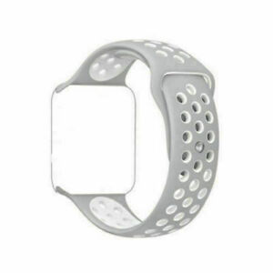For Fitbit Blaze Silicone Replacement Wristband Sport Strap Watch Band + Frame