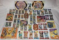 74 Pokemon Packs with Collectors Chest GX Boxes Tins Figure & Pin Collections +