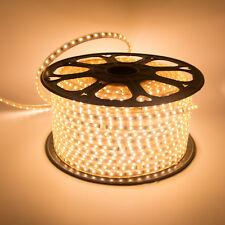 1M-30M Warm White 5730 60 LEDs 110V 220V  IP67 Waterproof Flexible Strip Light