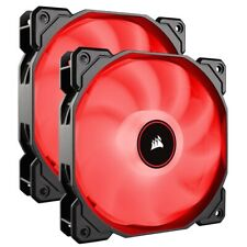 Corsair AF140 Air Series LED 140mm Computer Case Fans - Dual Pack - Red