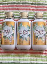 3 Bath & Body Works MAGIC IN THE AIR Shea & Vitamin E Body Lotion 8oz Each
