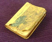 Antique 1907 Kaiser Franz Joseph I Miniature Pocket Calender Kalender Germany