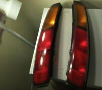 1988-1992 Toyota Corolla All-Trac  AE95 Wagon Tail Light Set Pair - See photos!