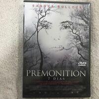 PREMONITION 7 DIAS SANDRA BULLOCK TERROR  DVD NUEVO NEW PRECINTADO ESPAÑOL INGLE