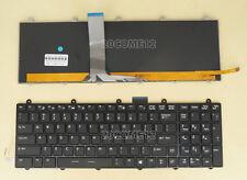 For MSI GT70 0NE GT70 2OC GT70 2OD GT70 2PC Dominator keyboard Color Backlit US
