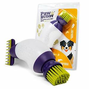 Paw Buddy - Portable Dog & Pet Cleaner Brush & Comb - For Muddy Pet Hair & Paws