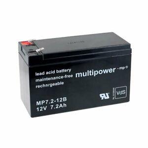 Powery Batterie rechargeable de remplacement pour USV APC Back-UPS ES 700 12V