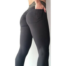 Women Gym Workout Running Fitness Yoga Sport Wear Leggings Tight Elastic Trouser