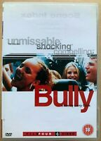 Bully DVD 2001 Larry Clark Kids Gritty Teen Drama w/ Bijou Phillips Brad Renfro