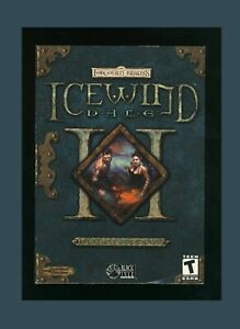 Forgotten Realms Icewind Dale II 2 PC(Black Isle)Brand New Factory Sealed