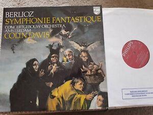 BERLIOZ SYMPHONIE FANTASTIQUE COLIN DAVIS PHILIPS 6500 774 LP