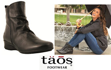 Ankle Comfort Boots Leather  - Taos Shoes Elite