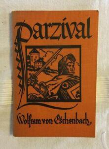 Parzival - Wolfram von Eschenbach & Robert Janecke -1948 softcover German ed.