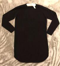 Ralph Lauren Black Wool Knitted Dress Size S New RRP £250
