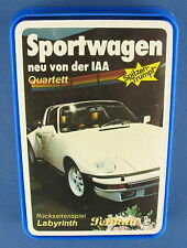 Quartett - Sportwagen neu von der IAA - Pelikan - NEU in Folie -Auto Kartenspiel