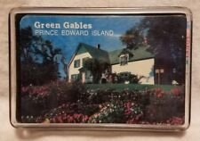 Pre-owned ~ Green Gables, Prince Edward Island Souvenir Playing Cards in Case
