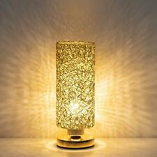 Modern Bedside Table Lamp Nightstand Desk Lamp Metal Wiring Lampshade Bedroom