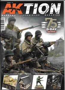 AKTION Wargames Techniques Magazine #3  AK 6305 D-Day Special, 75th ANN.   NM