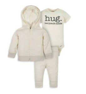 Gerber Organic Cotton Baby Boy 3 Piece Set