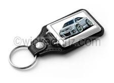 WickedKarz Cartoon Car Vauxhall Vectra VXR/SRi in Silver Key Ring