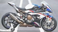 BMW S1000RR WHEEL RIM TAPE FRONT & REAR BMW 2009  2014 S1000R CUSTOM MODIFICATIO