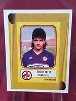 Roberto Baggio Fiorentina Calciatori 1998/99 Panini Rookie Reprint Sticker